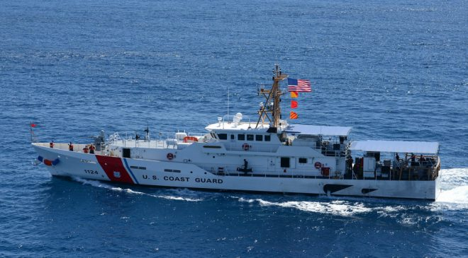 USCGC Oliver Berry Patrolled Samoa Waters
