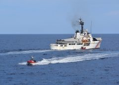 USCGC Resolute Returns From 56-day Deployment