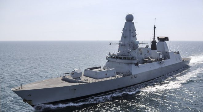HMS Defender Begins Predeployment Workups