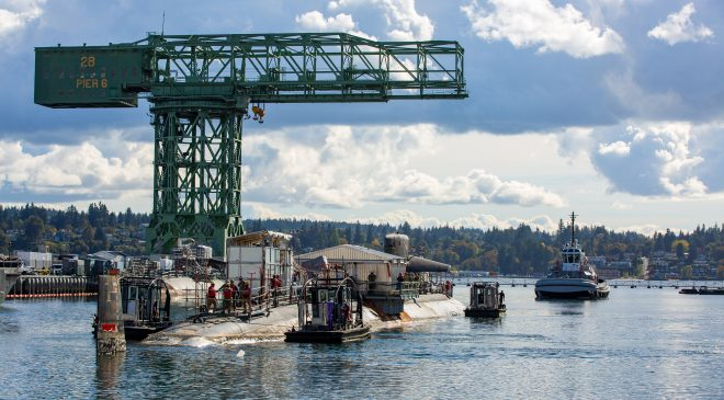 USS Bremerton continues inactivation process