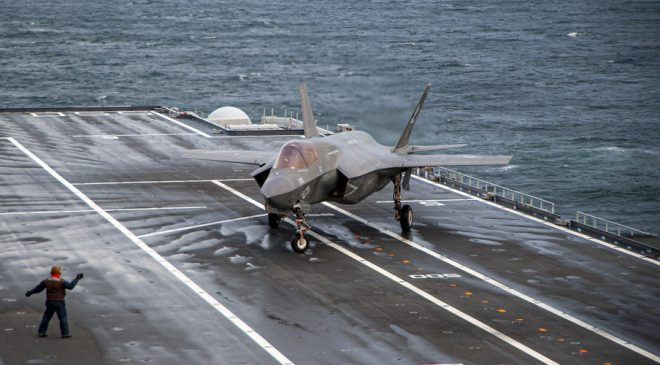 F-35B Trials on ITS Cavour