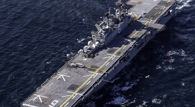 USS America Conducts Integrated Operations with JASDF F-35As