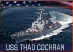 HII Awarded $936 Million to Build USS Thad Cochran