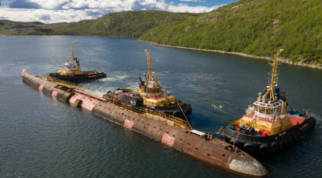 Nerpa Shipyard Prepares for Transport of Future Submarine Museum to Kronstadt