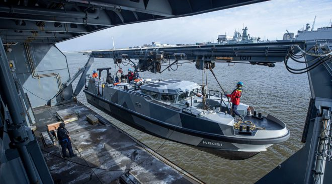 Damen Shipyards Den Helder holds naming ceremony for Expeditionary Survey Boat Hydrograaf