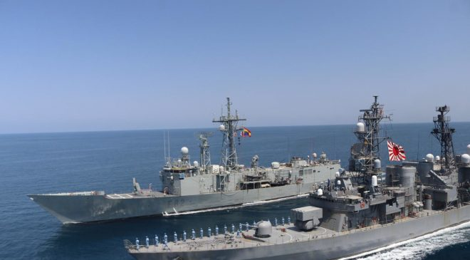 EU NAVFOR Somalia Conducts Joint Naval Exercises