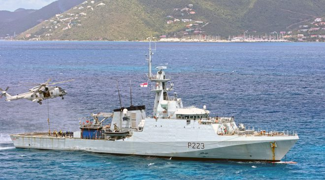HMS Medway Completes First Year in Caribbean