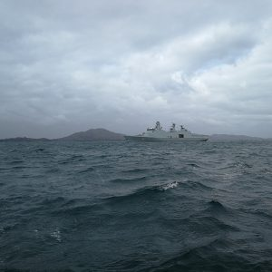 SNMG1 Takes Part in Joint Warrior